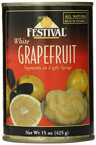 Festival White Grapefruit Segments in Light Syrup, 15-Ounce