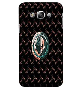 PrintDhaba Skull D-4731 Back Case Cover for SAMSUNG GALAXY A8 (Multi-Coloured)