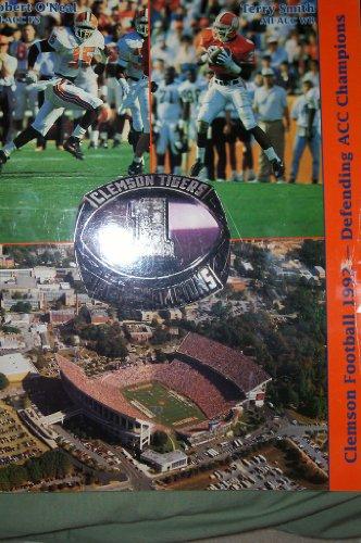 Clemson Football 1992 - Defending Acc Champions