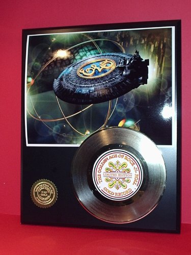 Electric Light Orchestra 24Kt Gold Record Ltd Edition Display