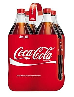 Coca-Cola Einweg, 4er Pack (4 x 1.5 l)