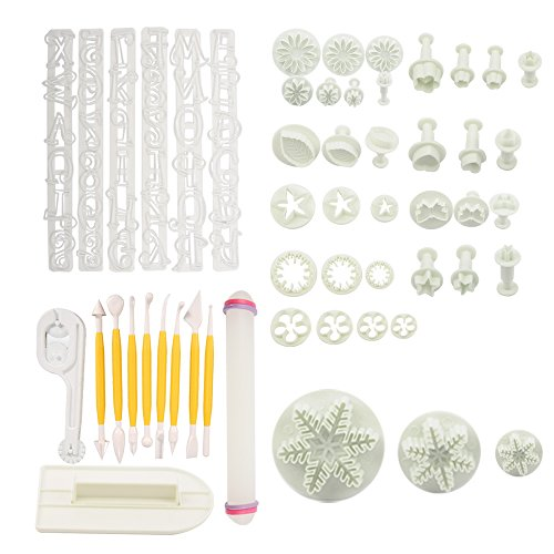 Huixinda Big Combo Full Sets cake Decration Tool Set By ...