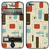 """atFoliX Designfolie """"Seventies"""" f�r Apple iPhone 5 - ohne Displayschutzfolievon """"Designfolien@FoliX"""""""