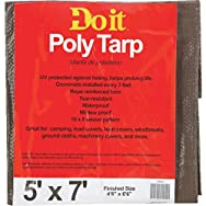 Do it Medium Duty Brown/Green Poly Tarp-5X7 BR/GR MED DUTY TARP