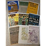 Bizarre Books Greetings cards(Pack of 5)by Jarndyce books