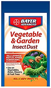 Bayer Advanced 701065 Vegetable And Garden Insect Spray Dust 4 Pound Patio Lawn