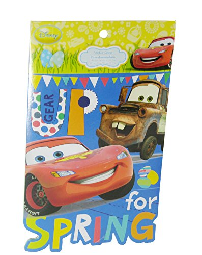 Disney Cars Gear Up for Spring Ready - Set - Easter Sticker Book