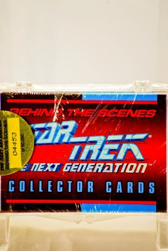 Star Trek The Next Generation Behind the Scenes Collector Cards
