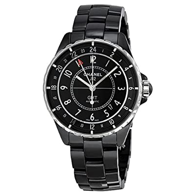 Chanel J12 Automatic GMT Black High-Tech Ceramic Unisex Watch H3102