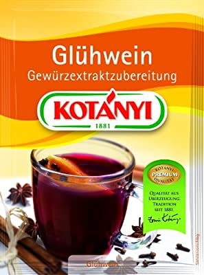Kotanyi Glühweingewürz, 5er Pack (5 x 37 g) von Kotanyi - Gewürze Shop