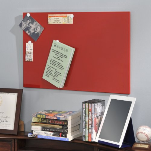 Steelmaster magnetic board with dry erase pad pen and for Office display board