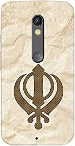 Kasemantra Wahe Guru Da Khalsa Case For Motorola Moto X Play