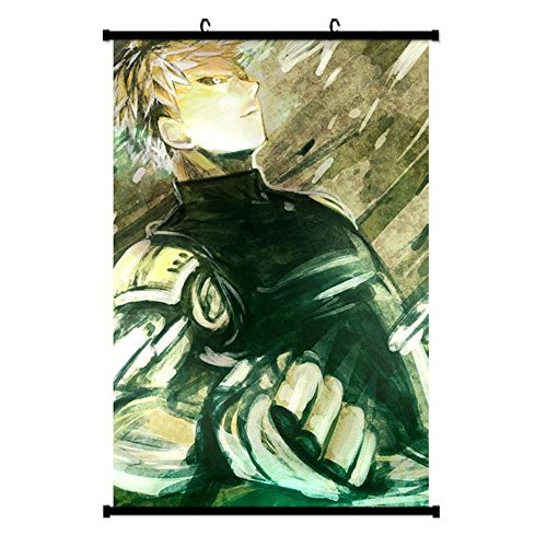 Onecos ONE PUNCH MAN Poster Fabric Scroll Painting Wall Picture 1PCS