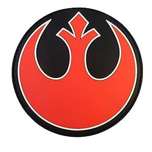 Rebel Alliance Star Wars PVC Gomme 3D Velcro Écusson Patch