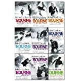 Robert Ludlum & Eric Van Lustbader Robert Ludlums the Bourne Series Collection 9 Books Set, (Legacy, Ultimatum, supremacy, Identity, Dominion, objective, deception, sanction, betrayal)