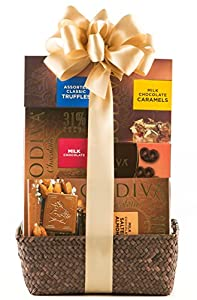 Wine.com Godiva Milk Chocolate Gift Basket