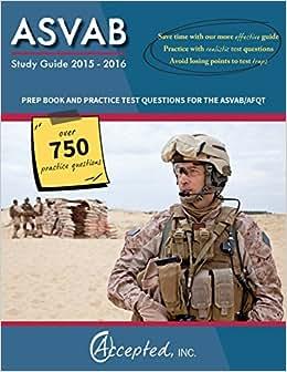 Amazon.com: asvab study book: Books