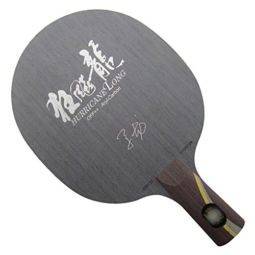 DHS Aryl-Carbon Table Tennis Blade - Chinese Penhold Handle, Ping Pong Blade, Hurricane Long