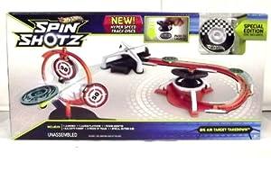 Hot Wheels Spinshotz Hyperspeed Showdown Playset