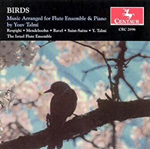 Birds: Music Arr for Flute Ens & Piano By Talmi