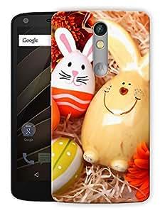 "Humor Gang Eggs Cute Cartoon Printed Designer Mobile Back Cover For ""Motorola Moto X Force"" (3D, Matte, Premium Quality Snap On Case)"