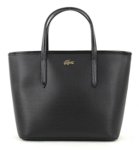 LACOSTE Chantaco Small Shopping Bag Black