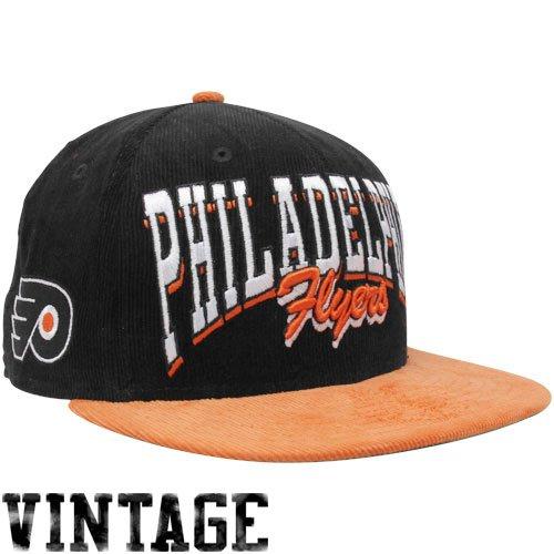 8d15055c09f New Era Philadelphia Flyers Black Orange 9FIFTY Corduroy Snapback  Adjustable Hat