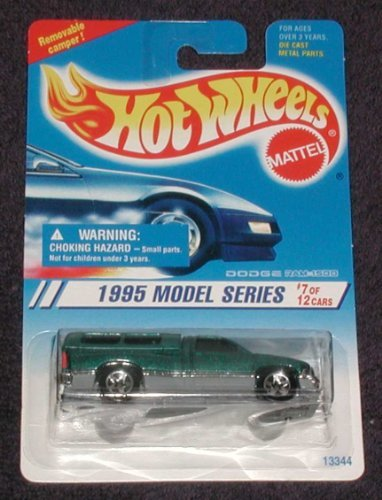 Mattel Hot Wheels 1995 Model series, #348 Dodge Ram 1500, #7 of 12 - 1