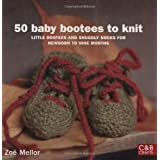 50 Baby Bootees to Knit (C&B Crafts)by Zoe Mellor