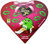 M&M's Valentine's Cupid's Mix Milk Chocolate Candies, 4-Ounce Heart Boxes (Pack of 6)