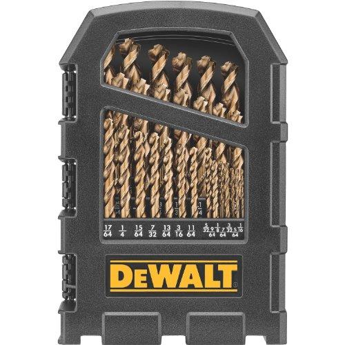 DEWALT DW1269 29-Piece Cobalt Pilot-Point Metal Drill Bit Index Set (Dewalt Metal Drill Bit Set compare prices)