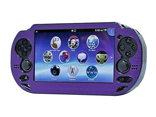 Mono PlayStation Vita Brushed Aluminum Clamshell Protective Case - Purple Coupon 2016