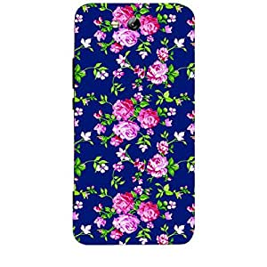 Skin4gadgets TROPICAL FLOWERS PATTERN 1 Phone Skin for CROMA CRCB2129