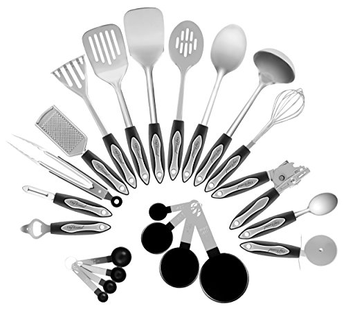 Chef Essential Classic 23-Piece Kitchen Utensil Set