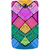 For Samsung Galaxy S3 I9300 Colored Circle ( Colored Circle, Circle, You, Good Qutoes ) Printed Designer Back Case Cover By TAKKLOO