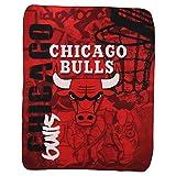 "NBA Lightweight Fleece Blanket (50"" x 60"") - Chicago Bulls"