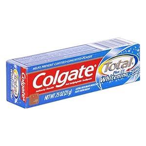 Colgate Total Plus Whitening Toothpaste, Gel - .75 oz