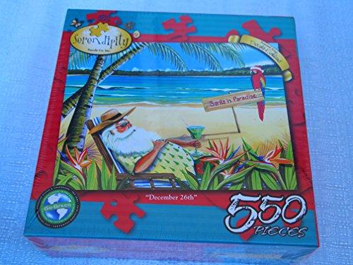 Serendipity 550 Piece Jigsaw Puzzle December 26th