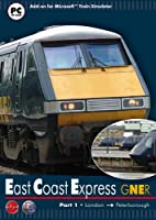 Gner East Coast Express Part 1: London to Peterborough - Add-On for MS Train Simulator (PC CD) from First Class Simulations