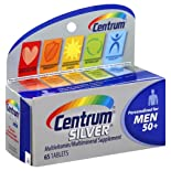Centrum Multivitamin/Multimineral Supplement, Men 50+, Tablets ct