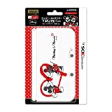 3DS LL] for Nintendo official licensed products Disney character TPU Cover for Nintendo 3DS LL Mickey & Minnie (Heart)