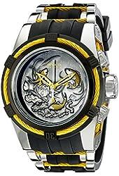 Invicta Men's 14194 Bolt Analog Display Swiss Quartz Black Watch