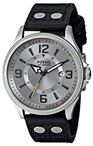 Fossil Men's FS4937 Analog Display Analog Quartz Black Watch