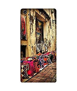 Chose Your Bag Back Cover Case for Huawei Ascend P7