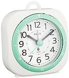 DAILY ( リズム時計 ) 小型 防滴 型 時計 電子音 アラーム 付 アクアパークミニDN グリーン色 4SE547DN05