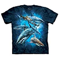 The Mountain Shark Collage T-Shirt