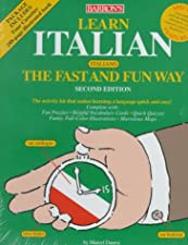 Learn Italian the Fast and Fun Way with Cassettes by Marcel Danesi