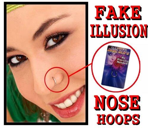 Google Wasuw Fake Nose Piercings