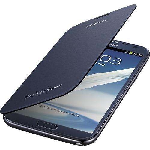 Samsung Galaxy Note 2 Flip Cover Case (Pebble Blue) (Galaxy Note 2 Flip Cover compare prices)