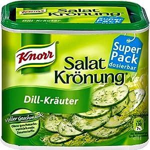 Knorr SalatKroenung Dill Krauter (Dill & Herbs Vinaigrette Mix) -Container for 2.3 L